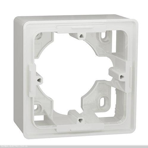 NU800218 Коробка для відкритого встановлення 1-пост білий Studio