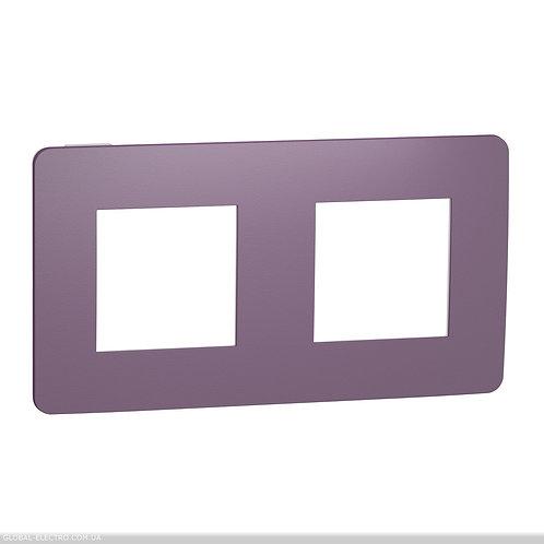 NU280414 Рамка 2-постова, Ліловий/білий