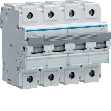 Автоматичний вимикач 4P 10kA C-125A 6M