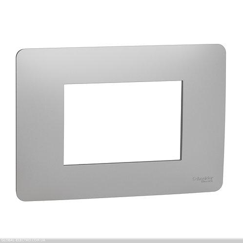 NU210330 Рамка 3-модульна, алюміній