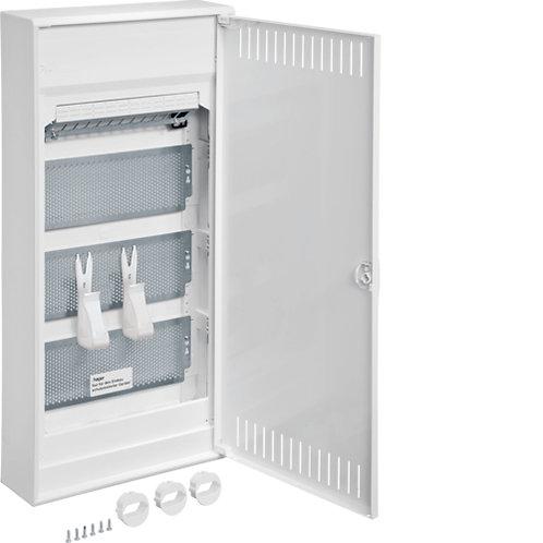 Щит 4-рядний для ММ-обладнання, з/у з металевими дверями, VOLTA