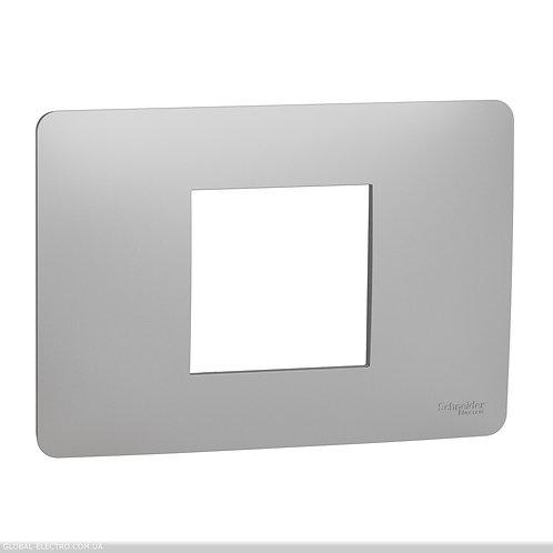 NU210230 Рамка 2-модульна, алюміній