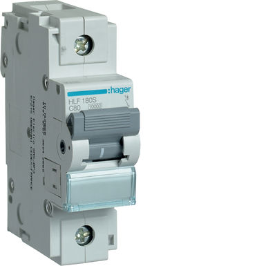 Автоматичний вимикач 1P 10kA C-80A 1.5M
