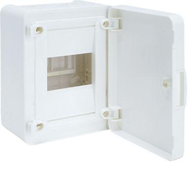 Щит з/у з білими дверцятами, 4 мод. (1х4), GOLF
