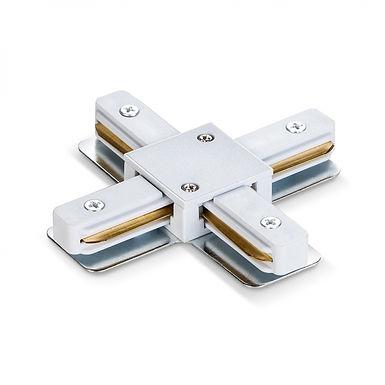 Соединитель для шинопроводов крестообразный VIDEX VL-TRF-CTX-W белый