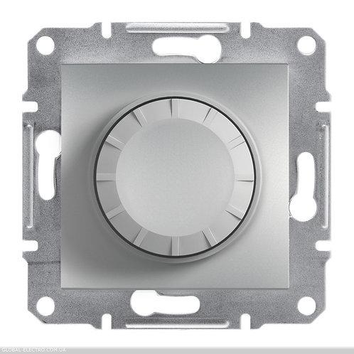 EPH6500161 Светорегулятор поворотный с красной подсветкой ASFORA АЛЮМИНИЙ