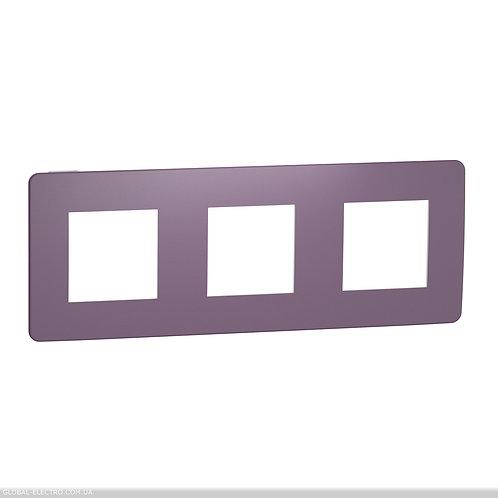 NU280614 Рамка 3-постова, Ліловий/білий