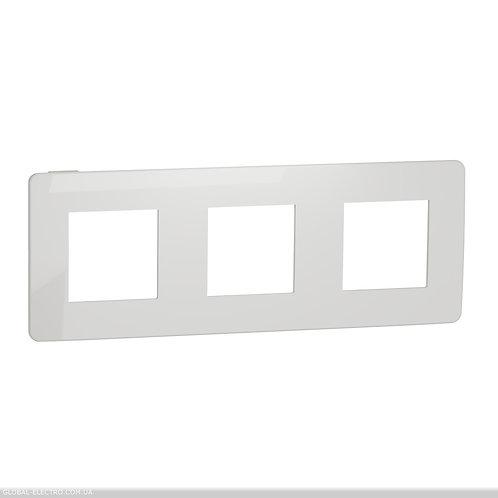 NU280618 Рамка 3-постова, Білий/білий