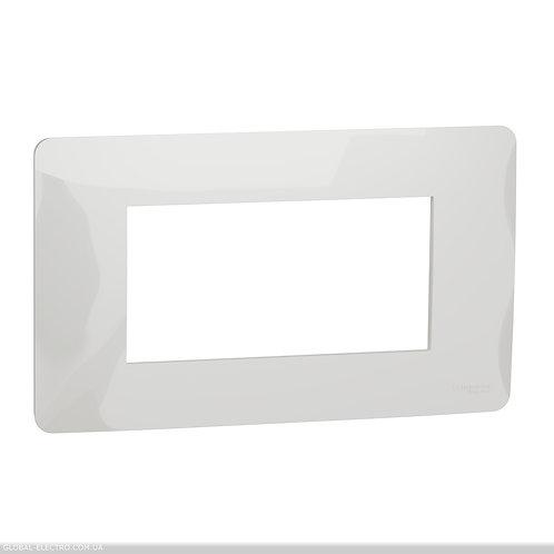 NU210418 Рамка 4-модульна, білий