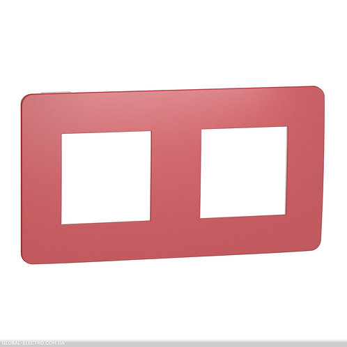NU280413 Рамка 2-постова, Червона/білий