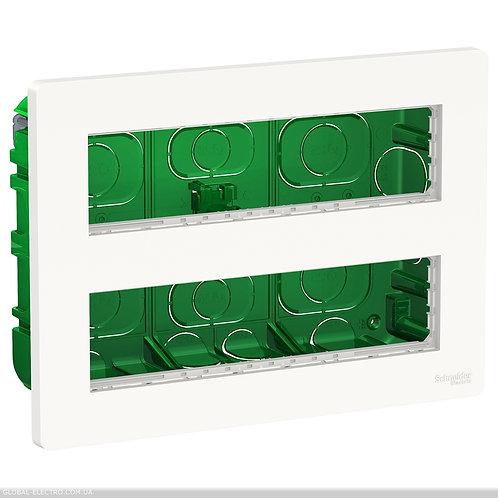 NU171820 Блок unica system+ прихована вставка 2х4 антибактеріальний