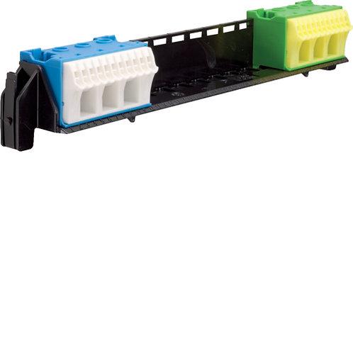 Утримувач з клемами PE/N: 11xN+11xPE / 3xN+3xPE