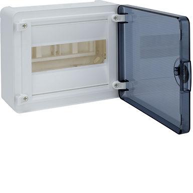 Щит з/у з  прозорими дверцятами, 8 мод. (1х8), GOLF