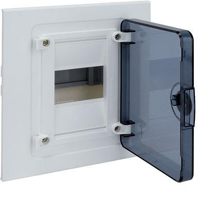 Щит в/у з  прозорими дверцятами, 4 мод. (1х4), GOLF