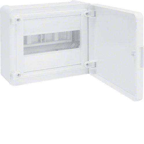 Щит з/у з білими дверцятами, 8 мод. (1х8), GOLF