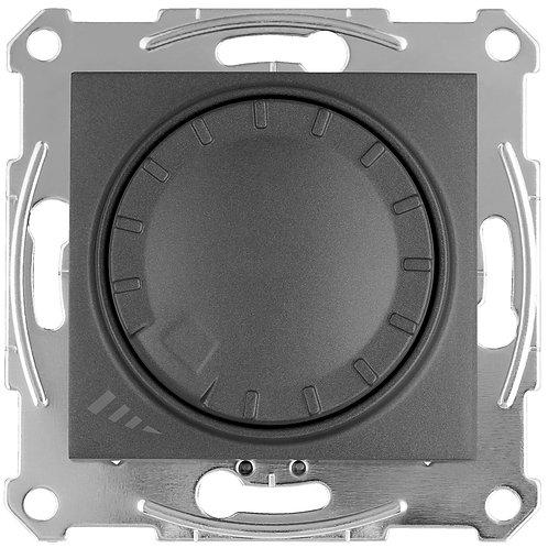 SDN2201270 LED Димер ПОВОРОТНО-нажимного 4-400Вт SEDNA ГРАФИТ