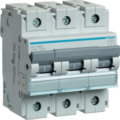 Автоматичний вимикач 3P 10kA C-100A 4.5M
