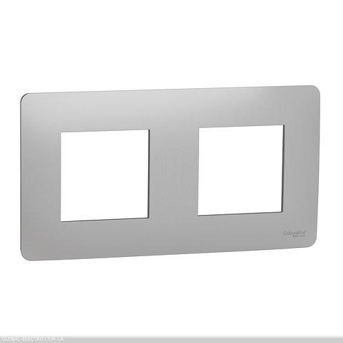 NU200430 Рамка 2-постова, алюміній