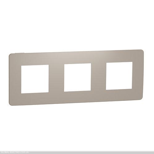 NU280626 Рамка 3-постова, Пісочний/білий