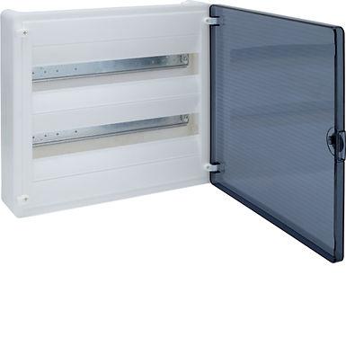 Щит з/у з  прозорими дверцятами, 36 мод. (2х18), GOLF