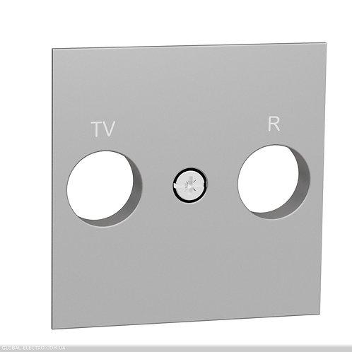 NU944018 Центральна плата розетки TV/FM білий