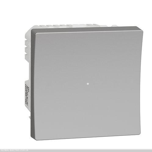 NU351530 Wiser Універсальний кнопковий димер для LED ламп алюміній