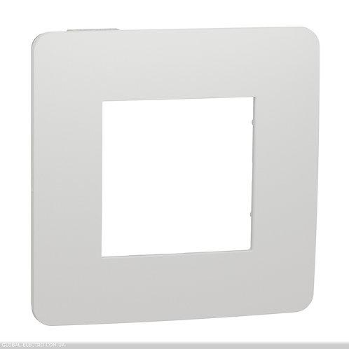 NU280218 Рамка 1-постова, Білий/білий
