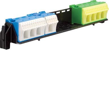 Утримувач з клемами PE/N: 16xN+14xPE / 4xN+4xPE