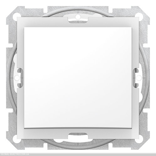 SDN0400521 Одноклавишный ПЕРЕКЛЮЧАТЕЛЬ SEDNA IP44 БЕЛЫЙ