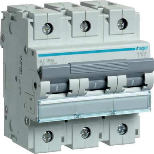 Автоматичний вимикач 3P 10kA C-80A 4.5M