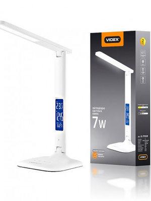LED лампа настольная VIDEX  VL-TF05W 7W 3000-5500K 220V(16шт/ящ)