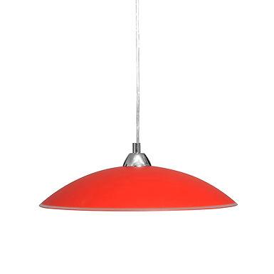 Светильник 'Индиго' 26260, подвес, красный