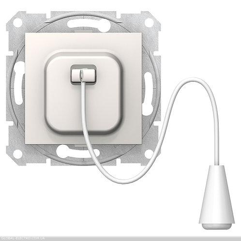 SDN1200123 Кнопочный выключатель SEDNA с веревкой слоновой кости