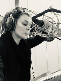 Alice Tielich, im Studio (Foto: privat)
