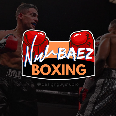 baez boxing design guy graphic design ne
