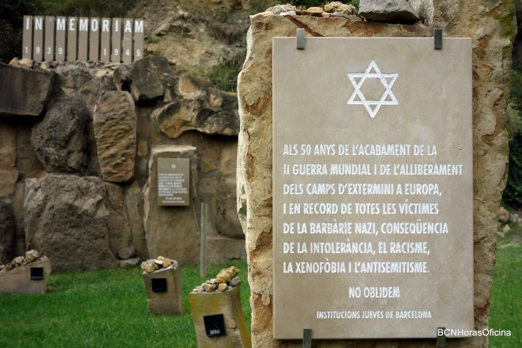 The Fossar de la pedrera in Montjuic Cementery
