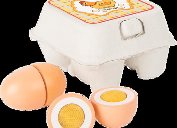 Uova in Legno