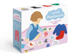 I piccoli Montessori. Gli indumenti in feltro.