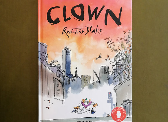 Clown. Silent Book