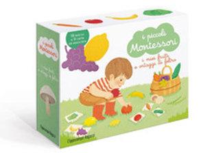 I piccoli Montessori. I miei frutti e ortaggi di feltro