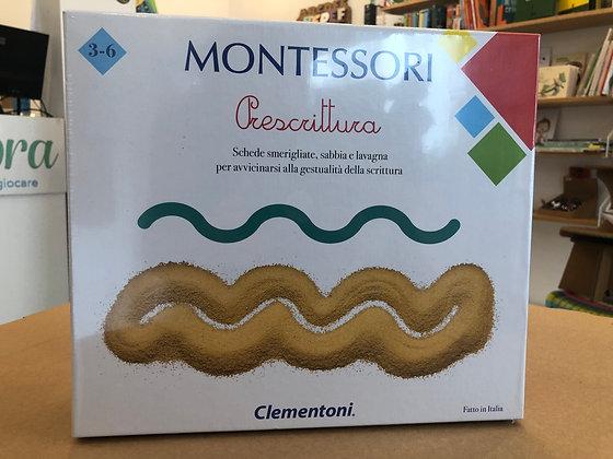 Montessori Prescrittura