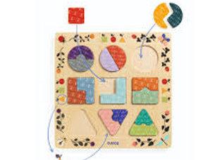 Puzzle Educativo Forme Geometriche