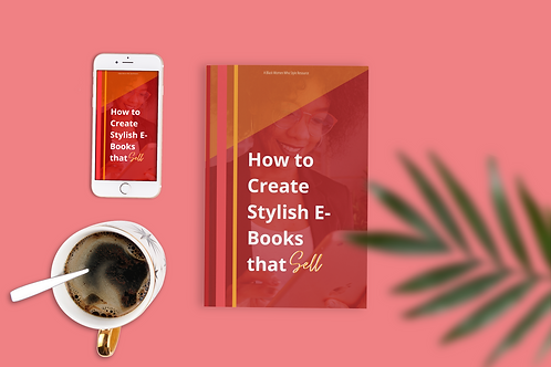 How to Create Stylish E-books that Sell