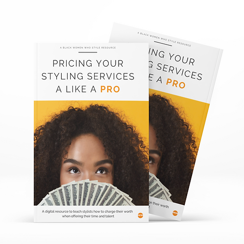 Pricing your Styling Services like a Pro