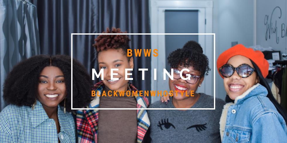 BWWS Meeting
