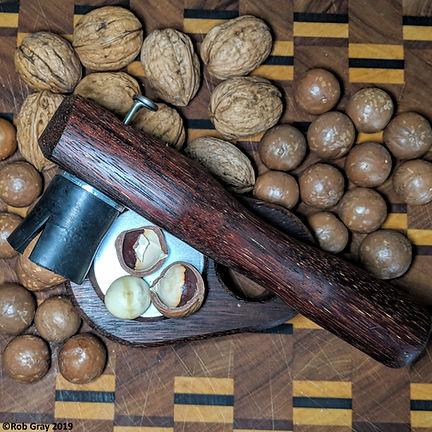 """""""Queensland Nut"""" Buster Nutcracker with Macadamias & Walnuts"""