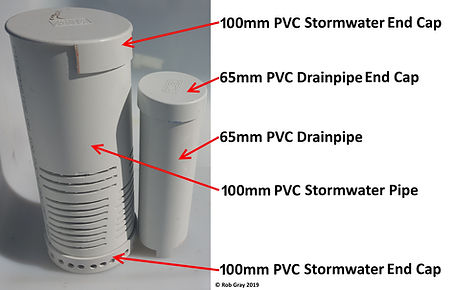 Aquaponic Bell Siphon Parts List