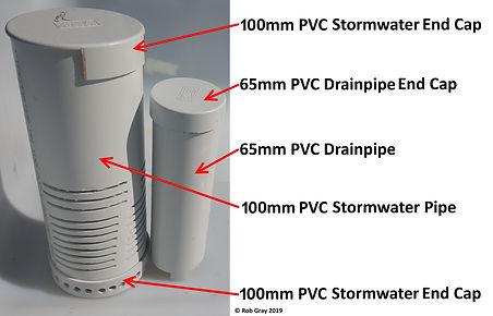 Aquaponic Bell Siphon Parts List