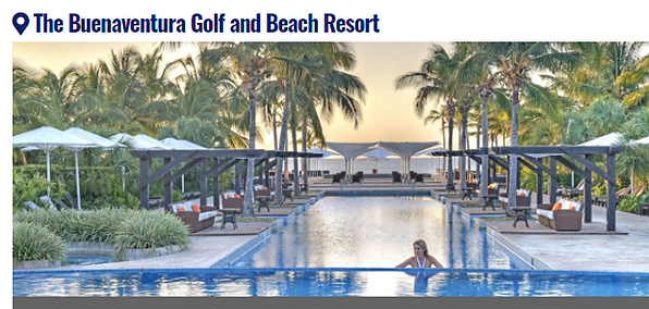 PTY - BUENAVENTURA GOLF AND BEACH RESORT