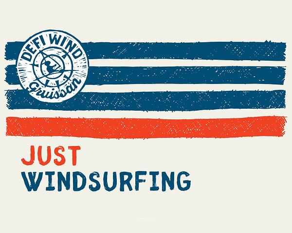 Affiche justwindsurfing